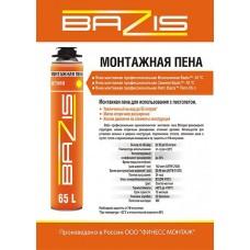Пена монтажная BAZIS 65л