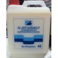 Праймер грунт акриловый Морской конек КОНЦЕНТРАТ (банка 4л)