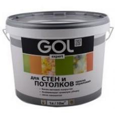 Водоэмульсионная краска интерьер СТРОИТЕЛЬНАЯ GOLexpert (6.5кг)