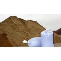 Песок в мешках мелкий (двойной промывки)