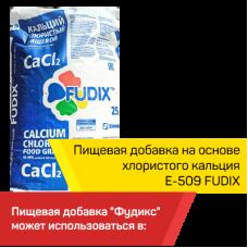 Пищевая добавка на основе хлористого кальция  Е-509 FUDIX