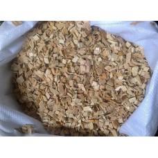 Щепа древесная (Ольха 7-10мм) в мешках 1 кг